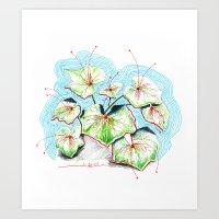 Plenty of Plants Art Print
