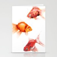 Peces Stationery Cards