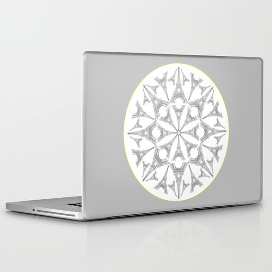 Paris in a Kaleidoscope Laptop & iPad Skin