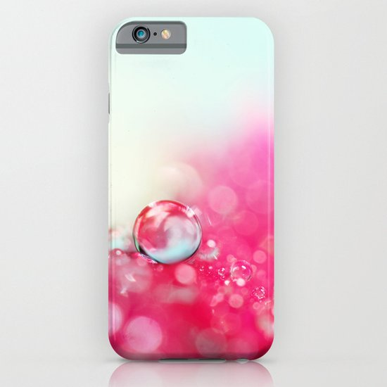 A Drop with Raspberrys and Cream iPhone & iPod Case