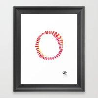 Monograms - O Framed Art Print