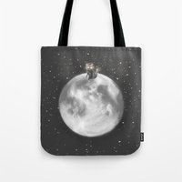 Lost In A Space / Moonel… Tote Bag