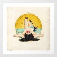 Miss Oklahoma Art Print