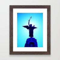 Russalka Framed Art Print