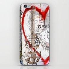 I love Rock'nRoll iPhone & iPod Skin