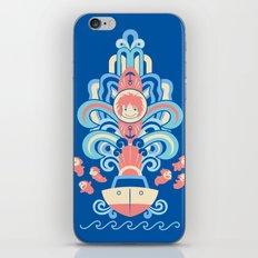 Ponyo Deco iPhone & iPod Skin
