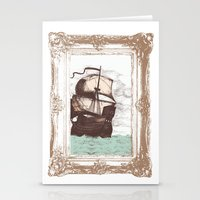 Old Clipper Ship Stationery Cards