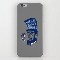 Abe Drincoln iPhone & iPod Skin