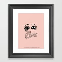 My Only Regret Is That I… Framed Art Print