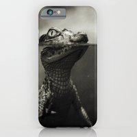 iPhone & iPod Case featuring Baby crocodile by VikaValter