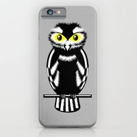 iPhone Cases featuring Owl by mailboxdisco