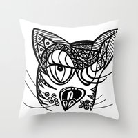 Gata Throw Pillow