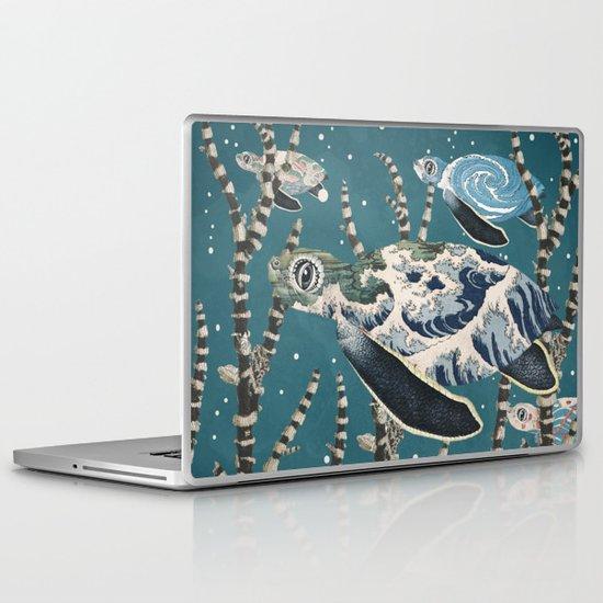 Turtle Migration Laptop & iPad Skin