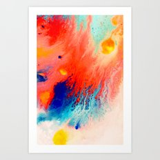 Surfaced Art Print