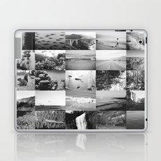 black and white world Laptop & iPad Skin