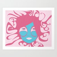 Bjork: All Is Full Of Lo… Art Print