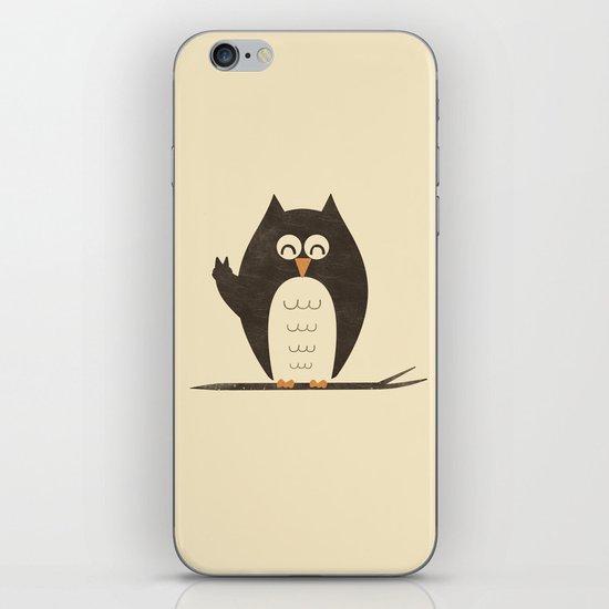 Peace Owlt iPhone & iPod Skin