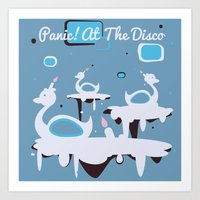 Panic! At The Disco - Ca… Art Print