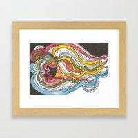 Glaser Breeze Framed Art Print