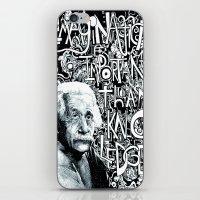 Einstein.  iPhone & iPod Skin