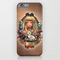 iPhone & iPod Case featuring Follow The White Rabbit. by Tim Shumate