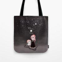 Black Xmas: A Merry Gothic Christmas Tote Bag