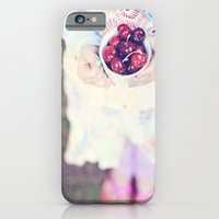 Sweet Cherry Girl iPhone 6 Slim Case