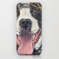 iPhone & iPod Case featuring Pit Bull  by WOOF Factory
