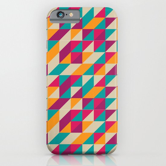 Triangles Pattern iPhone & iPod Case