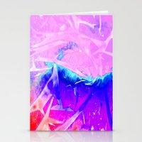 Aurora 3 - Ultraviolet Stationery Cards