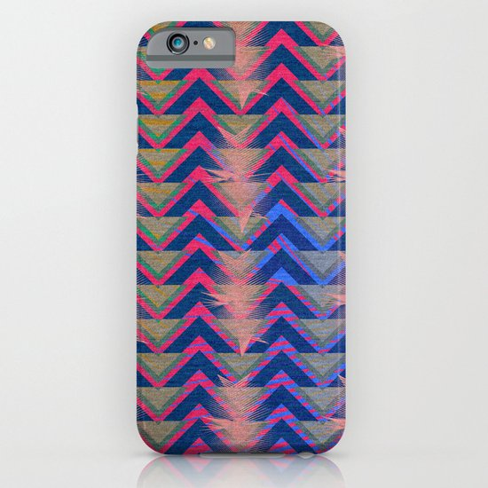 Chevron and  Geometric with pink iPhone & iPod Case
