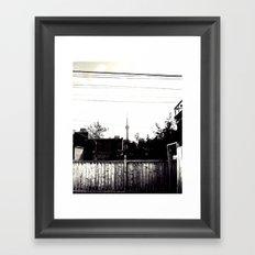 telescopic Framed Art Print