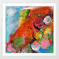 abstract I Art Print
