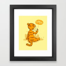 Ta Ta For Now Framed Art Print