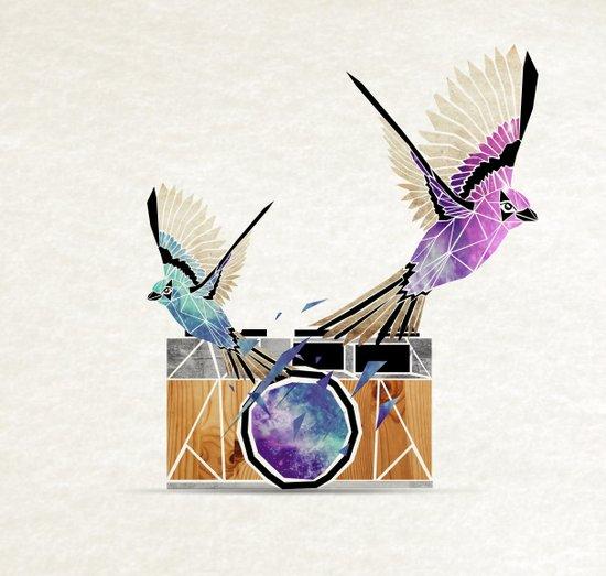 le petit oiseau va sortir! Art Print