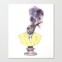 smokin' Canvas Print
