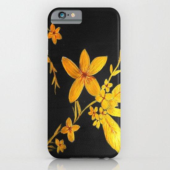 Golden flowers  iPhone & iPod Case