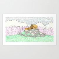 Edoras Art Print