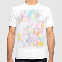 Sprung Mens Fitted Tee White SMALL