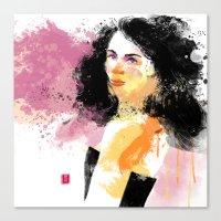 Lady B. Canvas Print