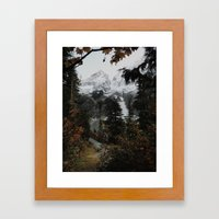 Cascade River Rd Framed Art Print