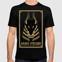 Anubis Mortuary Mens Fitted Tee Black SMALL
