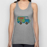 Mystery of the Lost Parts Unisex Tank Top