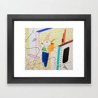 TORNASOL Framed Art Print