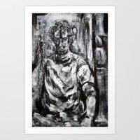 Justin Kill Art Print