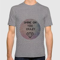Shine On You Crazy Diamo… Mens Fitted Tee Athletic Grey SMALL