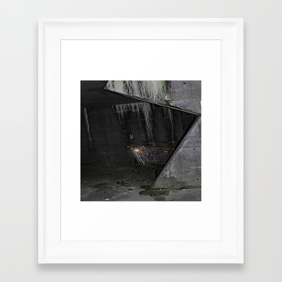 Trolly Framed Art Print