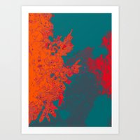 The Illusion Of The Elem… Art Print