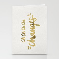 Bowie – Gold Ink Stationery Cards
