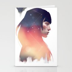 the lost constellation Stationery Cards